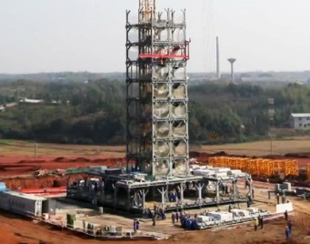 Строительство отеля Т30 в Китае