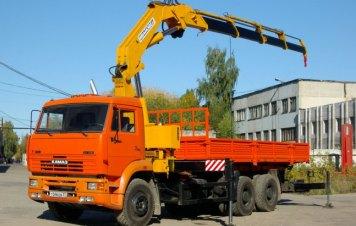 манипулятор КМ-34000 КАМАЗ-6520