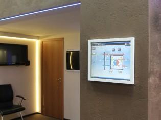 умный дом сенсорная панель
