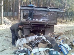 Вывоз мусора, грузчики